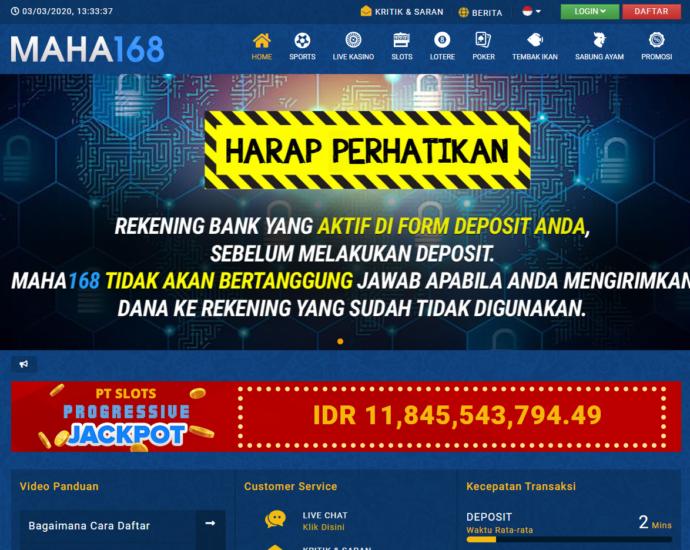 Situs Maha168